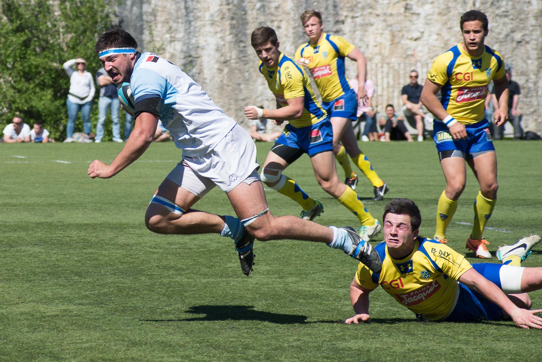 Elite Espoirs – Bayonne surclasse Clermont : 41-17
