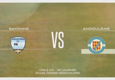 CFA2 Bayonne Angoulème