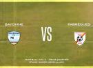 CFA2 Aviron Bayonnais vs FABREGUES