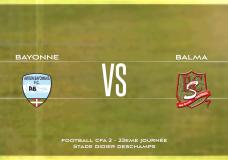 CFA2 Aviron Bayonnais FC vs Balma FC