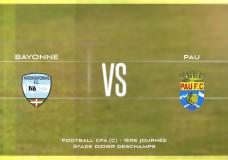 CFA Aviron Bayonnais FC vs PAU FC