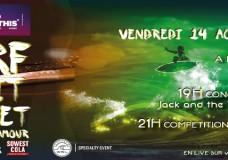 Anglet Surf de Nuit 2015: live le 14 Aout à 21h