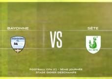 CFA Aviron Bayonnais FC vs FC Sète