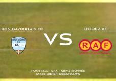 CFA Aviron Bayonnais FC vs Rodez Aveyron Football