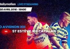 SO AVIGNON XIII vs ST ESTEVE XIII CATALAN – 1/4 de finale ELITE 1