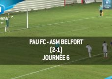 Foot National: PAU vs ASM BELFORT FC – 09/09/2016 | 6 ÈME JOURNÉE