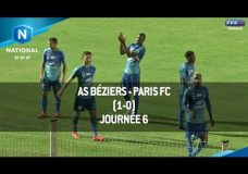 Foot National: AS BÉZIERS vs PARIS FC – 09/09/2016 | 6 ÈME JOURNÉE