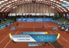 14ième ENGIE OPEN de Biarritz Pays Basque – 1/4 finale – Cirstea / Kudermetova